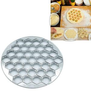 Пельмени Пельмени Пельмени Maker 37 Отверстия Алюминиевый сплав Пельмени с подвижным штифтом Сделайте тесто для кухни Womate1