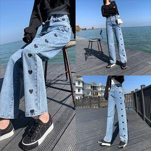 8FM Frühling Hot Style Frau Jeans Horn Casl Lady Jeans Neue Frauen Jeans