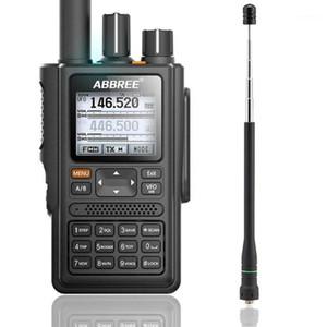 ABBREE AR-F8 GPS Posizione Condivisione di tutte le bande (136-520MHz) Frequenza / CTCSS Rilevamento Walkie Talkie Aggiungi AR-775 Antenna1