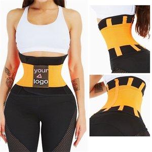 Aiconl Trainer Trainer Shaper Cinturón Tummy Control Personalizado Silmming Belt Sauna Sweat Slim Band Band Deporte Shaper Girdle Corset 201223