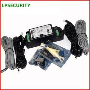 LPSECURITY безопасности Двойной фотоэлектрический датчик луча детектор для Авто-двери Система управления качели раздвижные стеклянные двери ворота