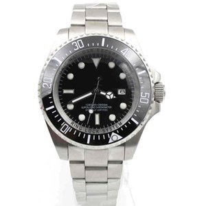 2020 Top para hombre de moda reloj de cerámica profundo mar Bisel -Dweller Zafiro Cystal Stanless Acero Con Glide bloqueo mecánico automático para hombre Watche