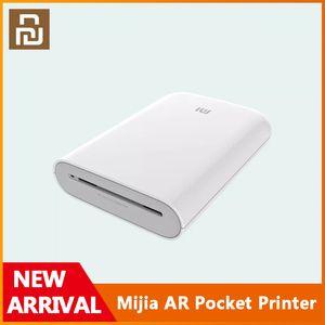 Xiaomi Mijia AR Pocket Printer 300dpi Portable Travel Mini Pocket Printer Party Photo Picture Camera DIY Share 500mAh Picture