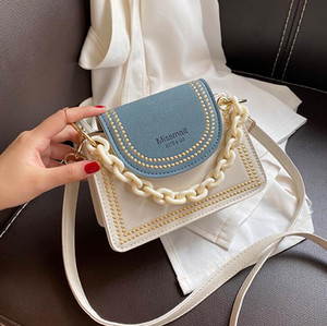 Mini Women Shoulder Bags New Style Girls Chain Flap with Letter Lady Crossbody Cute Small Handbag