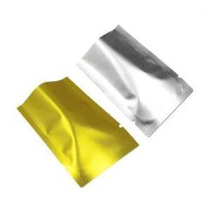 선물 랩 500pcs / lot 열 밀봉 가능 mylar 호 일 탑 오픈 알루미늄 패키지 가방 매트 진공 가방 향신료 커피 스토리지 Pouch1