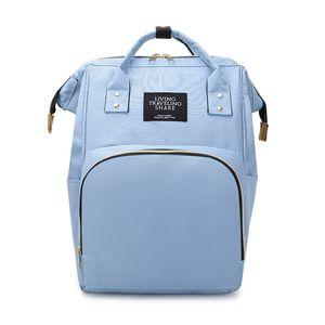 Mommy bag Large capacity multi-function bag Mother-baby bag Mother travel baby bottle diaper backpack custom LOGO1