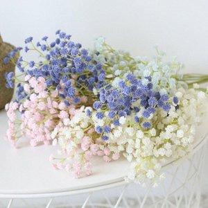 Gypsophila paniculata Artificial flor PU Início adereços decoração fotografia de estar quarto quarto Gypsophila falsificação flor Dooa #