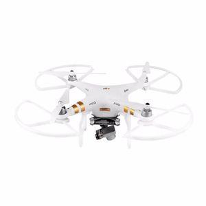 4 unids liberación rápida Propulsor Guardia Protección Protección Anillo de amortiguador para DJI Phantom 3 Phantom 2 Piezas de repuesto de drones Rojo / Blanco