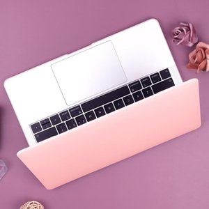 Creme glatte Kunststoffhartschalen-Case für MacBook Air Zoll A A Abdeckung für Mac Pro Touch Bar