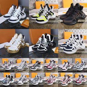 Arclight Sneaker Luxurys Designers Womens Sneakers Treinadores Aumentando Mens Paizinho Peso Cores Misto Designer Sapatos Casuais 52