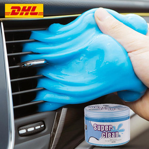 Clean Glue Car Cleaning Pad Glue Cleaner Dust Remover Cute Green Slime Practical Durable High Quality Magic Soft Sticky Free DHL