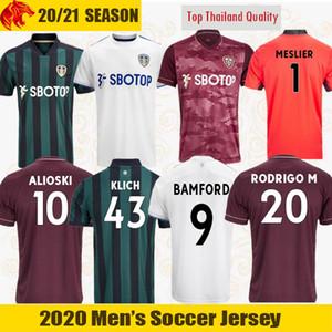 Футболка 20 21 Leeds United BAMFORD KLICH 2020 2021 ALIOSKI 100-летие HERNANDEZ LLORENTE футбольная форма RODRIGO M Men Kids Kit