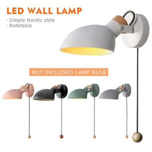 Nordic Led Wall Light 4W AC 110-240V Modern Bedroom Bedside Sconce Wall Lamp Lighting Minimalist Indoor Light Fixture1