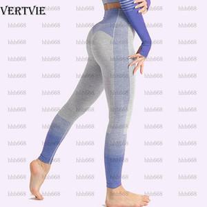 Dvie nahtlose yoga set sport outfits frauen 2 stück sets fitness enge langarm crop top + leggings training gym truge striped1