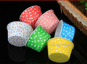 50PCS Paper Baking Cups No Smell, Safe Food Grade Inks and Paper Grease Proof Cupcake Liners Perfect Cups for Cake , Muffins MY-inf0486