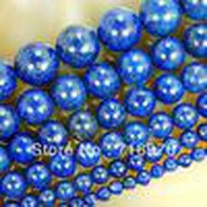 Livraison gratuite 4 mm 6 mm 8 mm 10 mm 12 mm 14 mm naturelles lapis Perles 15 0,5 « » Faire des bijoux, Diy