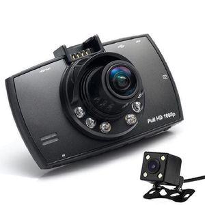 Driving Camera Dual-lens 12 Million Pixel High-definition Night Shot Function Reversing Image 12VTF Card Car Driving Recorder