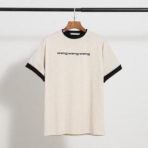 2020 Tshirt Donne Casual Casual Pantaloni di lusso Coreano Versione in tessuto Premium Velvet selvaggio Triangolo invertito Triangolo Gambe larghe Pantaloni autunnali