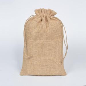 20x30 cm Rústico Juta Natural Presente De Esmagamento De Saco De Saco De Saco De Café Para O Feijão De Café Embalagem De Embalagem Favor Saco Saco 10pcs1