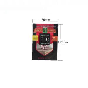 Nouveau Sac Bros au four 150 300 mg Sacs à l'odeur Sacs d'odeur 3types Gummies Bears Emballage holographique Empe Edibles Sacs de bonbons pour Herbe Sèche Tabac DFSD