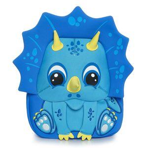 Kokomilo Kindertasche 3-5 Jahre Cartoon Tier Muster Kinder Rucksäcke Dinosaurier Kindergarten Schultasche Unicorn 1031