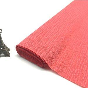 25050 cm renkli krep kağıt rulo origami kırışık krep kağıt zanaat DIY çiçekler dekorasyon hediye ambalaj kağıt zanaat jlllfx mx_home