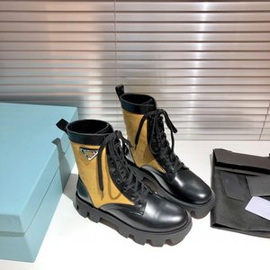 New Products Fashion Design Women's Shoes Fashion British Boots Round Toe Martin Boots Patent Leather Thick Bottom Round Toes