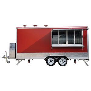Mobil Gıda Kamyon Gıda Treyler Kapalı Römorklar