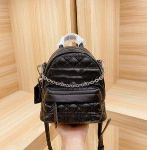 Новая мода обновлена F Версия оригинальной цепочки плечевых ремней Несколько задних рюкзака Saddle Bag 16 * 18см