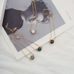 Handmade jewelry natural stone turquoise water drop transfer beads bracelet sweet beauty raw girlfriend travel gift