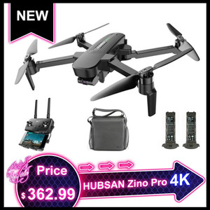 HUBSAN Zino Pro / H117S Zino GPS 5G WiFi 4KM 4K UHD FPV Drone 3 axes Gimbal Brushless RC Quadcopter Sphère Panorama hélicoptère