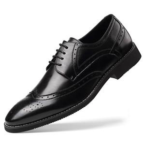 GM Golaiman 2020 Novo Design General Golaiman Homens Casuais vestido Sapatos Lace Up Wingtip Oxford Business Shoes Moda Sneakers