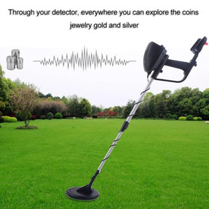 All metal detector Portable Lightweight Underground Metal Detector Finder Length Adjustable Under Shallow Water MD40301