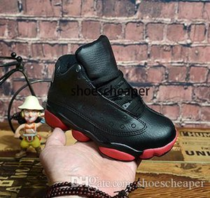 Online Sale Cheap New 13 Kids basketball shoes for Boys Girls sneakers Children Babys 13s running shoe Size 11C-3Y