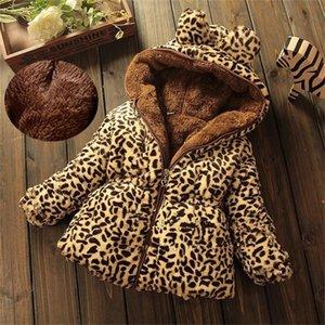 Children Warm Teenager Winter Jacket For Girls Hooded Kids Girls Winter Coat Cotton-Padded Parka Children's Clothes 201110