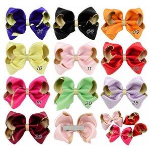 2020 Jewelry Capelli Bambini Tutti sacchetto di stoffa Hairclip Big Money Cipolla poliestere a doppia cinghia grande arco Hairclip