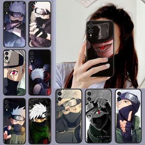 Naruto Kakashi Animated Case حالة الهاتف المحمول، Huawei Honor 8 8C 8x9 9A 9X V10 Mate 10 20 I Lite Pro Case، أسود، ماء، فاخر