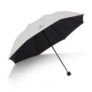 Yada Marca Qualidade Folding cor sólida UV Guarda-chuvas Mulheres Folding chuvoso do guarda-chuva impermeável Parasol Umbrella presente Yd295 bbyPWN hotclipper