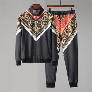 Classic V Letter 'Designer Men's Casual Tracksuits #003 Milan Autumn winter Fashion jogging Set Luxury Snake Hair Lady Brand sport suits