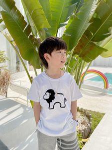 2021 Yeni Çocuk Karikatür T Gömlek Moda Bebek Erkek Kız T-shirt Sevimli Rahat Çocuk Tees Tops
