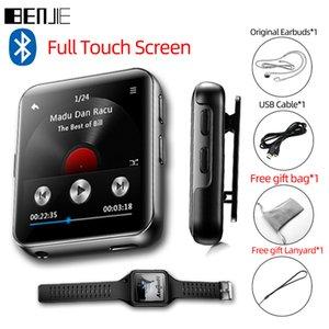 Benjie Full Touch Screen Bluetooth Player Portable Audio Mini Clip Music Player com rádio FM, gravador, e-book lj201016