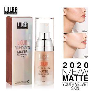 1x Pro Face Foundation Cream Matte Base Full Coverage Makeup Base Brighten Skin Tone Concealer Foundation TSLM1
