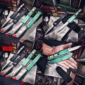Специальный ! Microtech Ultratech Баунти Хантер Автоматическая UT85 UTX85 UTX70 VG10 лезвия Halo V Открытый кемпинга 6 ножей