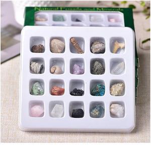 1 Takım Doğal Kaya Mineral Örnek Ocaksızlık Ham Kristaller Hatıra Mini Mineral Taş Toplama Süs Hediyeleri Için Qylaox