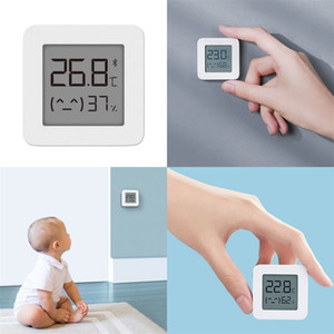 ABS LCD 습도 미터 블루 치아 인텔리전스 가정용 Babys 방 번호 디스플레이 습도계 흰색 온도 미터 침실 15xF M2