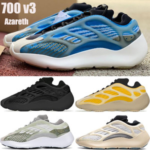 NEW kanye west 700 v3 Azareth mens running shoes Azael alvah OG reflective outdoor men women sport sneakers trainers with box US 5-11