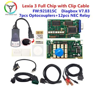 Golden Lexia 3 Full chip PP2000 Diagbox V7.83 with 921815C for for Diagnostic Tool Lexia3 Full Chip Auto Scanner