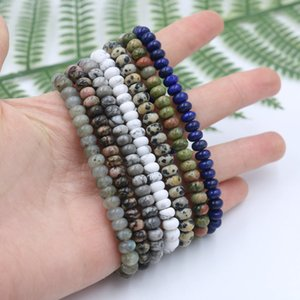 Men Natural Stone Beads strand Bracelet Tibetan Buddha Yoga Chakra Friendship Women Bracelets Jewelry Tobilleras