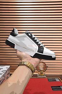 Dolce & Gabbana D&G zapatillas de deporte de Luxe de calidad superior respirable hombre Rivoli zapatilla de deporte para hombre de los zapatos de moda Footwears Chaussures