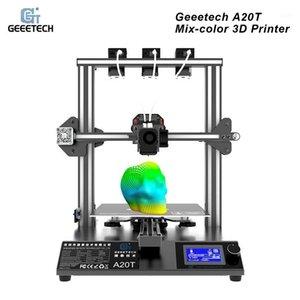 GEEETECH A20T 3D 프린터 3-IN-1 OUT GT2560 제어 보드 지원을 사용한 혼합 컬러 인쇄 인쇄 필라멘트 탐지 재개 1